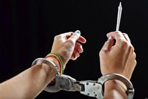 weed arrest bust