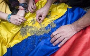 Colombia Marijuana Flag