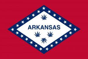 Arkansas Marijuana Flag