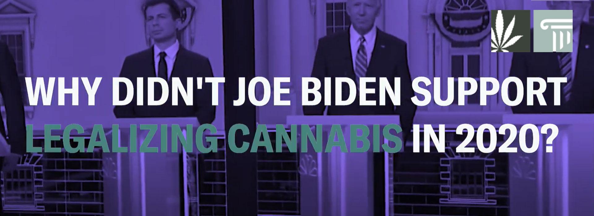 Joe Biden Legalize Cannabis