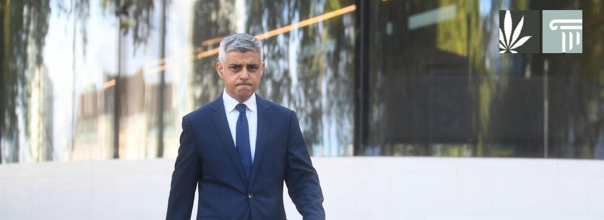 London Mayor Sadiq Khan Plans Commission Study Cannabis Decriminalization 2