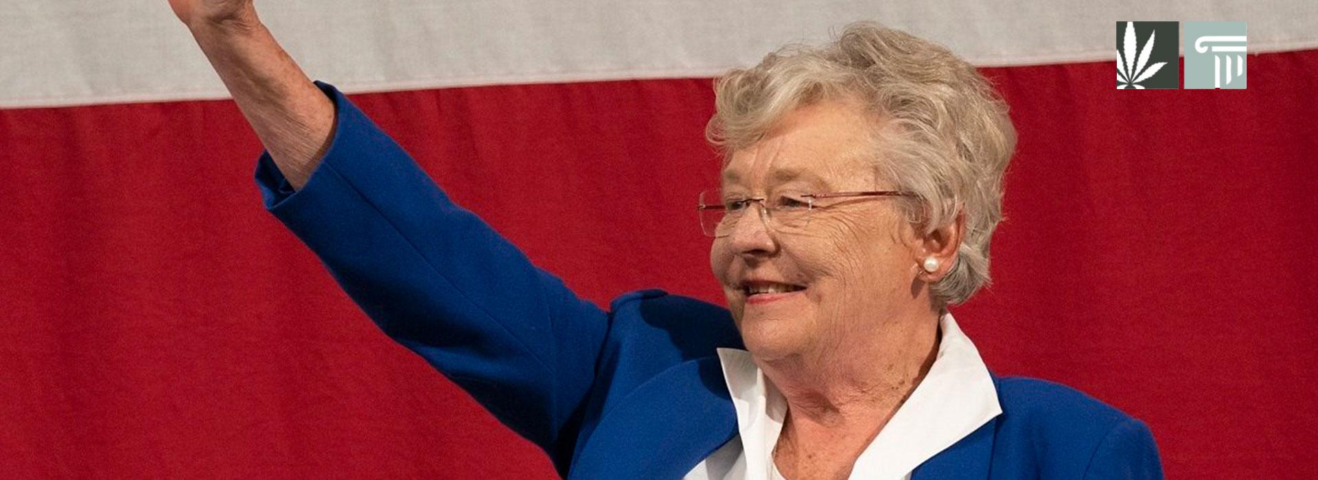 Alabama gov Kay Ivey signs medical marijuana legislation